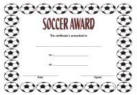 Soccer Award Certificate Template 7