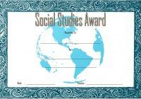 Social Studies Certificate Template 1