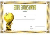 Social Studies Certificate Template 10
