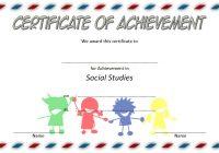 Social Studies Certificate Template 7