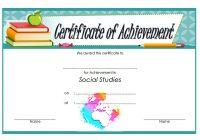 Social Studies Certificate Template 8