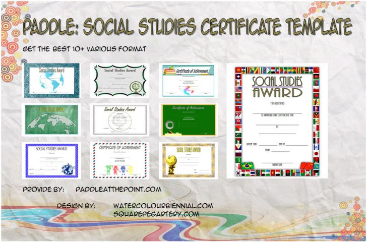 Permalink to Social Studies Certificate Templates (The 10+ Best Ideas FREE)