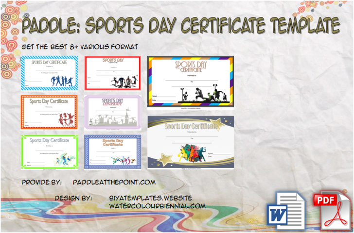 Permalink to Sports Day Certificate Templates: 8+ Inspirational Designs