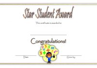 Star Student Certificate Template 8