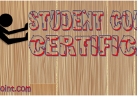 Student Council Certificate Template FREE by Paddle