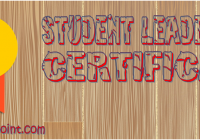 Student Leadership Certificate Template FREE by Paddle