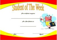 Student of The Week Template 3