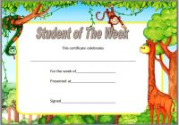 Student of The Week Template