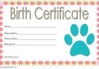 Stuffed Animal Birth Certificate Template 2