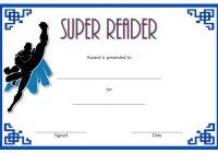 Super Reader Certificate Template 2