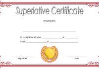 Superlative Certificate Template 4