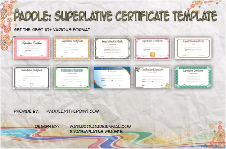 Permalink to Superlative Certificate Templates Free (10 Respected Awards)