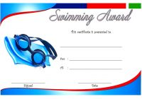 Swimming Certificate Template 9