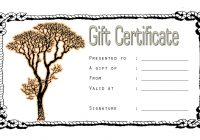 Tattoo Gift Certificate 1