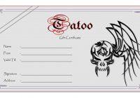 Tattoo Gift Certificate 5
