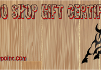 Tattoo Gift Certificate Template Free Download by Paddle