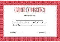 Teacher Appreciation Certificate Template 2
