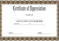 Teacher Appreciation Certificate Template 3