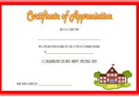 Teacher Appreciation Certificate Template 8