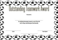Teamwork Certificate Template 1