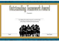 Teamwork Certificate Template 10