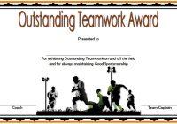 Teamwork Certificate Template 2