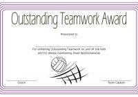 Teamwork Certificate Template 3