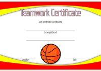 Teamwork Certificate Template 5