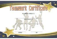 Teamwork Certificate Template 6