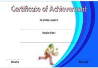Tennis Achievement Certificate Template 7