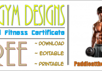 The 7 GREAT Physical Fitness Certificate Templates FREE by Paddle