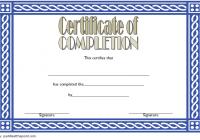 Training Course Certificate Template 8