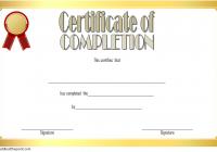 Training Course Certificate Template 9