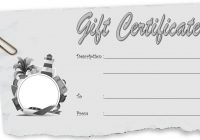 Travel Gift Certificate Template 10