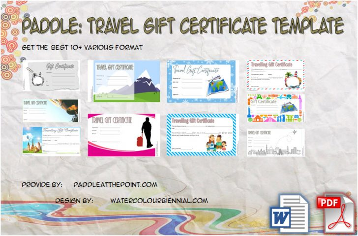 Permalink to Travel Gift Certificate Templates – 10+ Best Ideas FREE