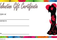 Valentine Gift Certificate Template 1