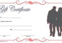 Valentine Gift Certificate Template 6
