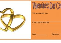 Valentine Gift Certificate Template 7