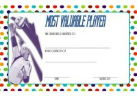 Volleyball Certificate Template 5