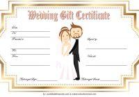 Wedding Gift Certificate Template 2