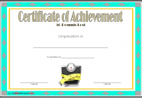 Weight Loss Certificate Template 1
