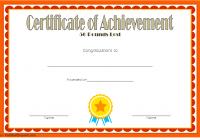 Weight Loss Certificate Template 2