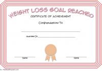 Weight Loss Certificate Template 6