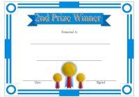 Winner Certificate Template 2