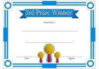 Winner Certificate Template 3