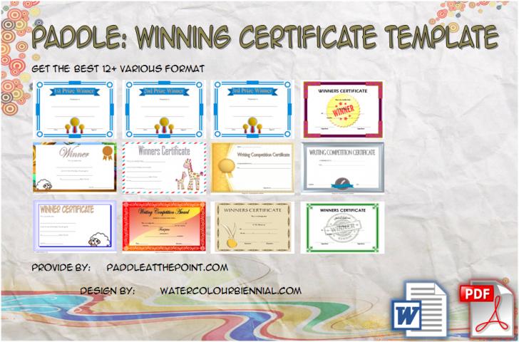 Permalink to Winner Certificate Template – 10+ Remarkable Designs